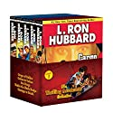 Thrilling Adventures Collection Audiobook by L. Ron Hubbard Narrated by Marisol Nichols, R. F. Daley, Kelly Ward, Jim Meskimen, Phil Proctor, Christina Huntington, Josh R. Thompson, Charles Fathy, Gino Montesinos, Shane Johnson