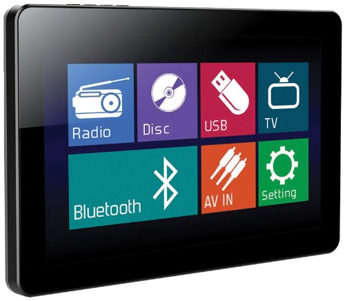 Power Acoustik Pd-103B In-Dash Single Din Dvd Am/Fm Receiver With 10.3-Inch Touchscreen Monitor And Usb/Sd Input