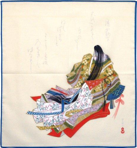 ふろしきや ハンカチ 清少納言(42cm 綿100%)