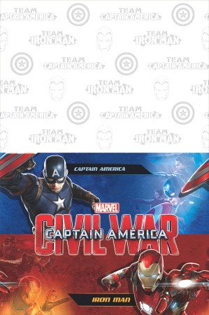 Captain America 3 Civil War Party Plastic Tablecover