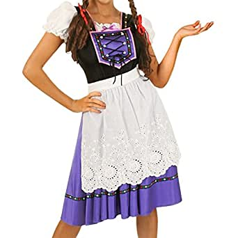 Lovery Valley Eye Candy Bright Colours Tavern Maiden Adult Costume