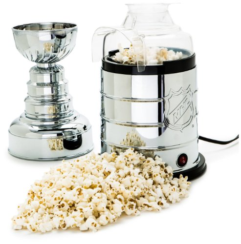 NHL League Logo Stanley Cup Popcorn Maker (Plastic Popcorn Cups compare prices)