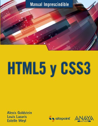 HTML5 y CSS3 / HTML5 and CSS3 (Spanish Edition)