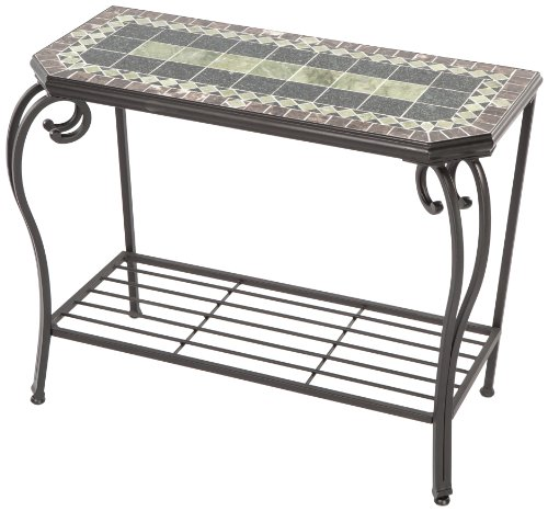 Alfresco Home Ponte Mosaic Outdoor Sideboard Console Table