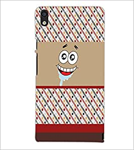 PrintDhaba Cartoon D-5881 Back Case Cover for HUAWEI ASCEND P6 (Multi-Coloured)