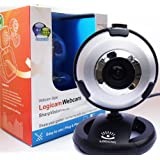 Webcam - New USB PC Webcam - Built-in microphone, 5G Lens, Plug and Play no driver needed, Works with Skype Yahoo MSN Etc - Share your golden moments with loved ones any where in the world. (SAME OR NEXT DAY DISPATCH)by Logicam