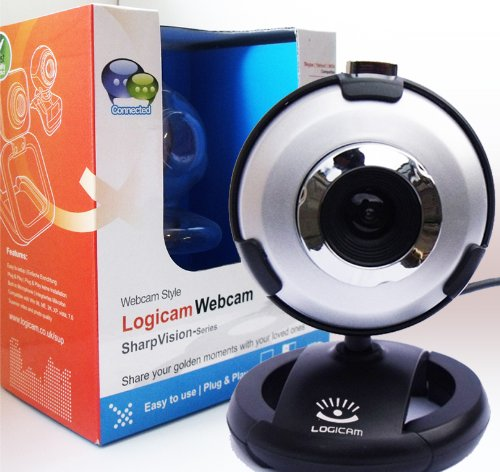 Webcam - New USB PC Webcam - Built-in microphone, 5G Lens, Plug and Play no driver needed, Works with Skype Yahoo MSN Etc - Share your golden moments with loved ones any where in the world. (SAME OR NEXT DAY DISPATCH)