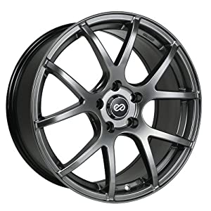 17×7.5 Enkei M52 (Hyper Black) Wheels/Rims 5×114.3 (480-775-6550HB)