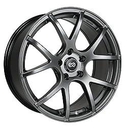 17×7.5 Enkei M52 (Hyper Black) Wheels/Rims 5×114.3 (480-775-6550HB)