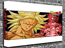 "Dragonball Z - Broly Animated Comic Canvas Art Canvas Print Picture print Size: (16"" x 12"")"