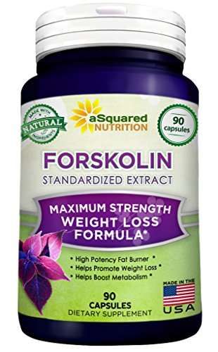 100% Pure Forskolin (90 Capsules) - Max Strength 250mg Forskolin Extract for Weight Loss Fuel, Coleus Forskohlii Root 20% Standardized Diet Supplement Pills, Belly Buster Fat Burner 2x Slim Trim Lose (Forskoline Extract compare prices)