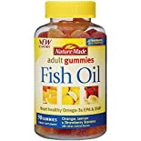 Nature Made Fish Oil, Adult Gummies, Orange, Lemon & Strawberry Banana, 90 gummies