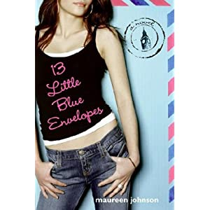Cover for the book 13 Little Blue Envelopes