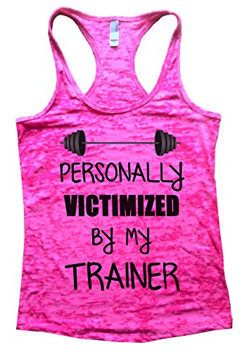 Personally-Victimized-By-Trainer-Womens-Workout-Running-Gym-Burnout-Tank-Top