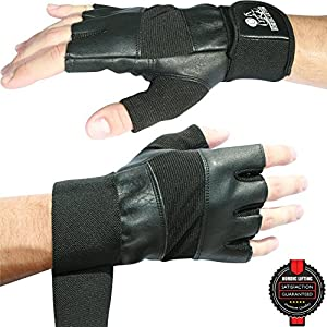 Weight Lifting Gloves With Wrist Support For Gym Workout, Crossfit, Weightlifting, Fitness & Cross Training - The Best For Men & Women - Nordic Lifting™ Premium Quality Gear & Equipment - Use Gloves, Hooks, Wraps & Straps to Avoid Injury During Powerlif