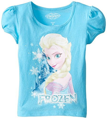Little Girls' Disney Elsa Puff Sleeve Tee