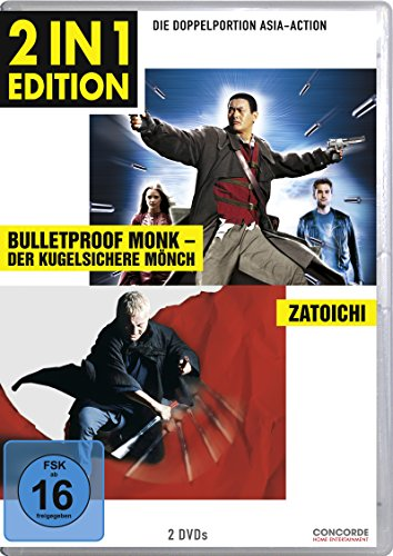 Bulletproof Monk - Der kugelsichere Mönch / Zatoichi - Der blinde Samurai (2 in 1 Edition, 2 Discs)