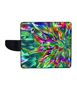 KolorEdge Printed Flip Cover For Lenovo P1 Multicolor - (1479-55KeMLogo11955LenovoP1)