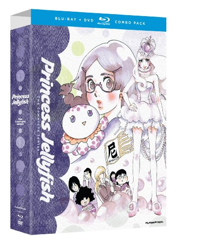 Cover art for  Princess Jellyfish: The Complete Series (Blu-ray/DVD Combo)
