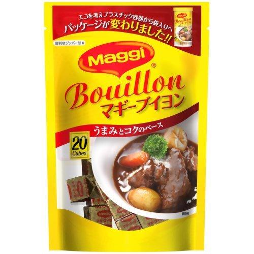 マギー ブイヨン 4g×20個入