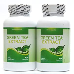 Green tea extract concentrated fish oil 2 for Benefits of fish oil weight loss
