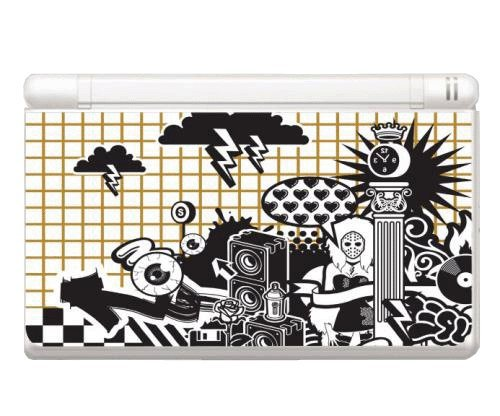 Music Instrument City Decorative Protector Skin Decal Sticker for Nintendo DS Lite