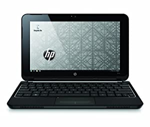 HP Mini 210-1040NR 10.1-Inch Black Netbook - 9.75 Hours of Battery Life