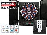 Bull´s Master-Classic - elektronisches Soft-Tip Dartboard im hochwertigen Kabinett