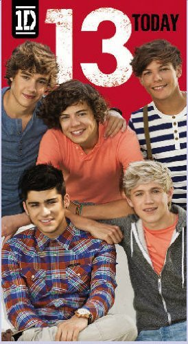 Danilo One Direction Age 13 Birthday Card