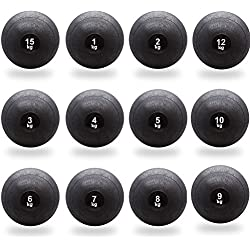 TNP Accessories® Slam Balls - No Bounce Medicine Crossfit Gym Boxing Fitness Training Ball (4)