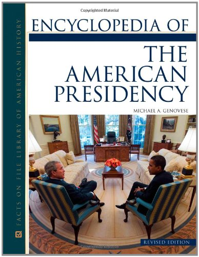 Image for publication on Encyclopedia of the American Presidency