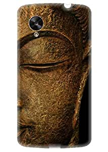 Spygen Premium Quality Designer Printed 3D Lightweight Slim Matte Finish Hard Case Back Cover For LG Google Nexus 6