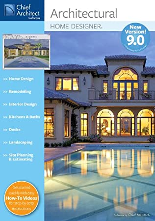 Chief Architect Architectural Home Designer 9.0  [Download] [OLD VERSION]