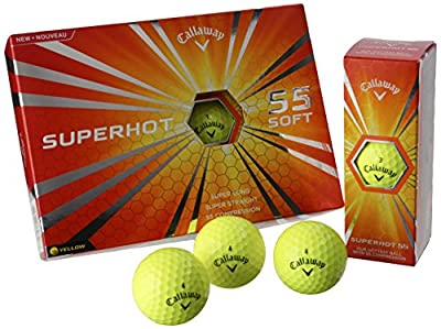 Callaway Superhot 55 Golf Balls (One Dozen)