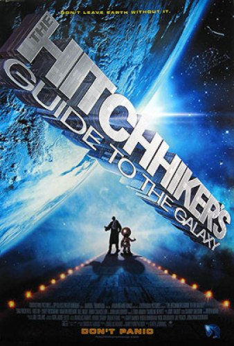 The Hitchhiker'S Guide To The Galaxy Double-Sided Regular 27X40 Mos Def Poster