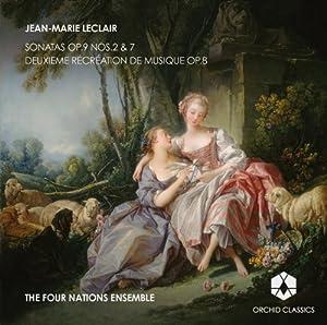 Leclair: Sonatas [The Four Nations Ensemble ] [Orchid Classics : ORC100032]