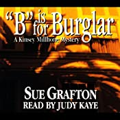 B Is for Burgler: A Kinsey Millhone Mystery | Sue Grafton