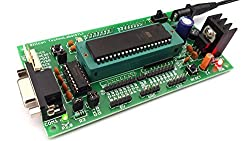 ATMEL 8051 Project Development Board with ZIF Socket, AT89S52 and MAX232 support AT89SXX,P89V51RD2,AT89CXX
