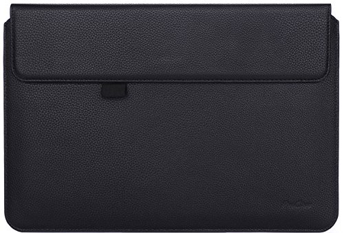 Microsoft Surface Pro 4 Case Sleeve, also fit Surface PRO 3 / Surface 3, ProCase Wallet Sleeve Case for Surface PRO 4 / 3 Tablet Computer, Compatible with Type Cover Keyboard (Black) (Microsoft Surface Pro 3 Sleeve compare prices)