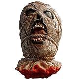 BestOfferBuy Life Size Severed Bloody Dead Man Ghost Head Rope Eye Halloween Prop