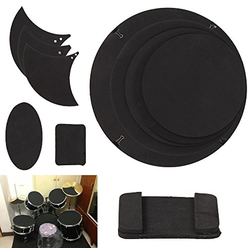 allright-drum-silencer-pads-set-for-rock-drum-kits-bass-snare-drums-10pcs-black