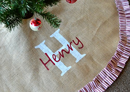 Vintage Style Personalized Tree Skirt