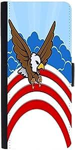 Snoogg Bald Eagle 4Th Of July Vector Theme Design Designer Protective Flip Ca...