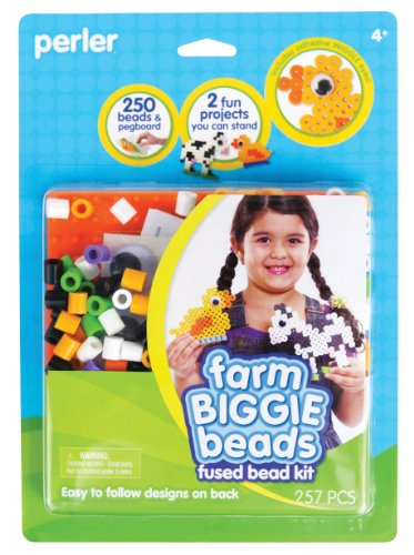 Perler Fused Bead Kit, Farm Biggie Beads