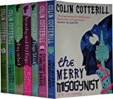 Colin Cotterill Dr Siri Paiboun Mystery Collection 7 Books Set RRP:£54.93(The Merry Misogynist, Love Songs From A Shallow Grave, Curse Of The Pogo Stick, Anarchy And Old Dogs, Disco For Thedeparted,Thirty ThreeTeeth,The Coroner's Lunch)(Colin Cotterill