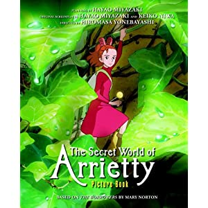 The Secret World of Arrietty Picture Book (Arrietty Film Comics)