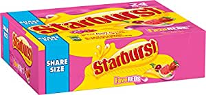 Starburst Fave Reds, 2.07-Ounce Packs  (Pack of 24)
