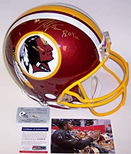 Robert Griffin III RG3 Autographed Hand Signed Washington Redskins Full Size... by Creative Sports