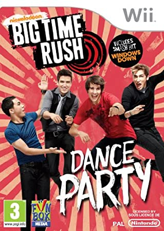 Big Time Rush: Dance Party (Wii)