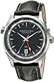 Hamilton Men's H32695731 Jazzmaster Analog Display Automatic Self Wind Black Watch